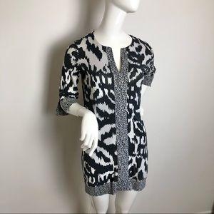 Diane Von Furstenberg Silk Tunic Resort Wear